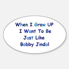Bobby Jindal Oval Decal