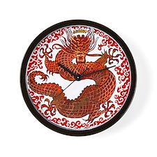 Dragon Twist Wall Clock