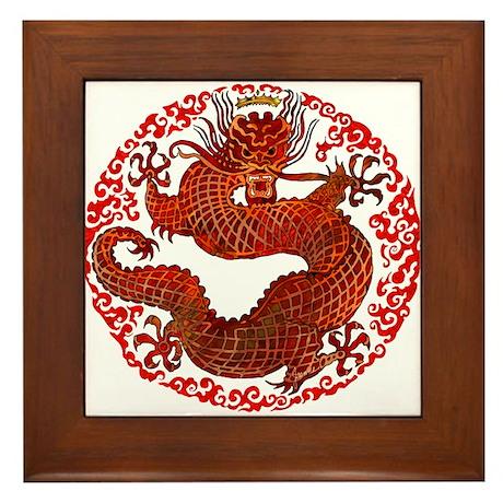 Dragon Twist Framed Tile