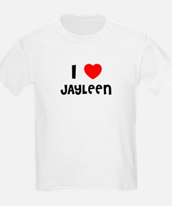 I LOVE JAYLEEN Kids T-Shirt