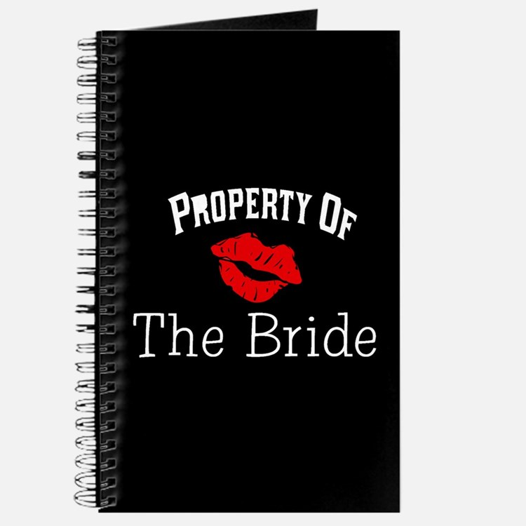 Property of the Bride(Red Lips) Journal