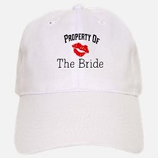 Property of the Bride(Red Lips) Baseball Baseball Cap