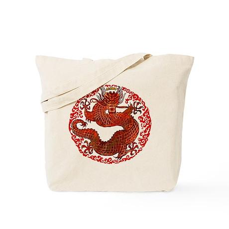 Dragon Twist Tote Bag