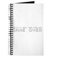 Game Over Man Journal