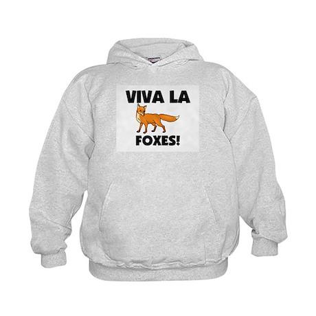 Viva La Foxes Kids Hoodie