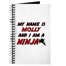 my name is molly and i am a ninja Journal