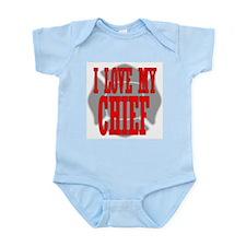 I love my chief Infant Creeper