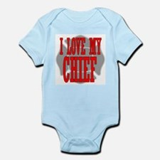 I love my chief Infant Creeper