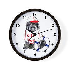 life guard newfy Wall Clock