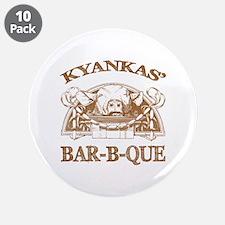 "Kyankas' Family Name Vintage Barbeque 3.5"" Button"
