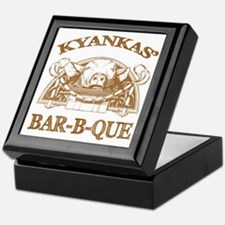 Kyankas' Family Name Vintage Barbeque Keepsake Box