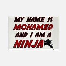 my name is mohamed and i am a ninja Rectangle Magn