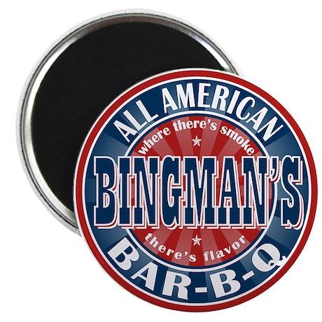 Bingman's All American BBQ Magnet