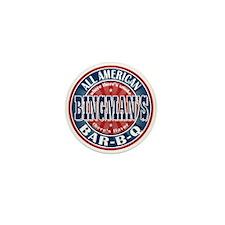 Bingman's All American BBQ Mini Button
