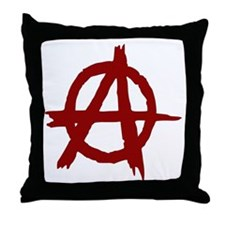 Anarchy Throw Pillow