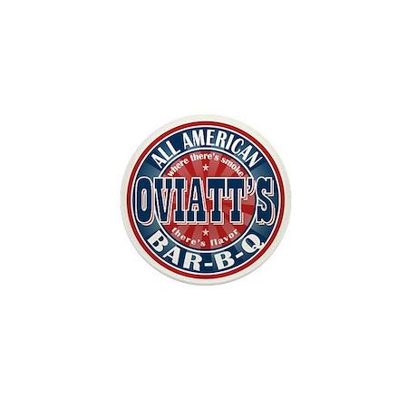 Oviatt's All American BBQ Mini Button (100 pack)