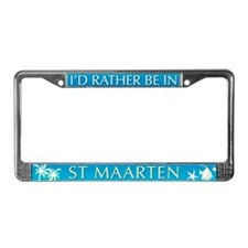 St Maarten License Plate Frame
