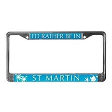 St Martin License Plate Frame