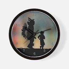 Teach The Children Wall Clock