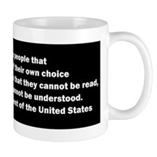 Quote of James Madison Mug
