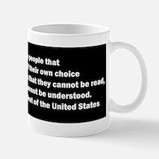 Quote of James Madison Mug