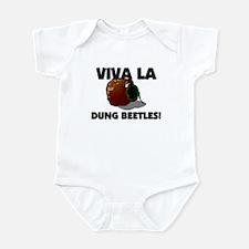 Viva La Dung Beetles Infant Bodysuit