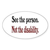 Disabled Stickers & Flair