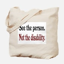 See the person... Tote Bag
