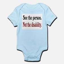 See the person... Infant Bodysuit