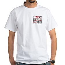 HERO Comes Along 1 Friend BRAIN CANCER Shirt
