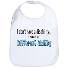 Different Ability Bib