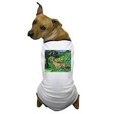 Irish Terrier summer whimsica Dog T-Shirt