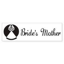 Mother of the Bride Bumper Bumper Sticker