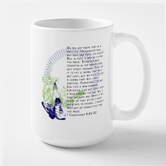 Run for the Prize Large Mug