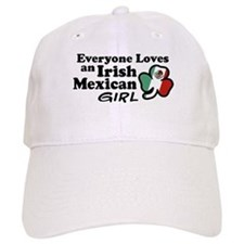 Irish Mexican Girl Baseball Cap