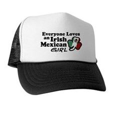 Irish Mexican Girl Trucker Hat