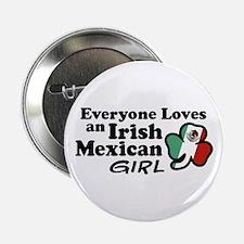 """Irish Mexican Girl 2.25"""" Button"""