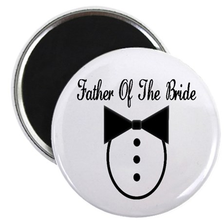 """Father of the Bride 2.25"""" Magnet (100 pack)"""