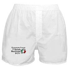 Irish Mexican Boy Boxer Shorts