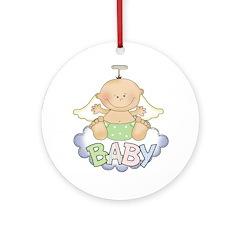 Baby Angel Ornament (Round)
