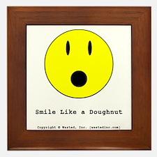 Smiley Framed Tile