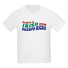 Proud Irish Puerto Rican T-Shirt