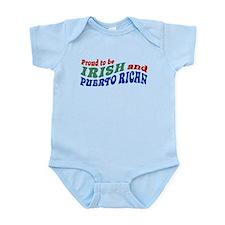 Proud Irish Puerto Rican Infant Bodysuit