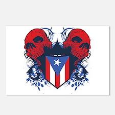 Puerto Rico Skulls Postcards (Package of 8)