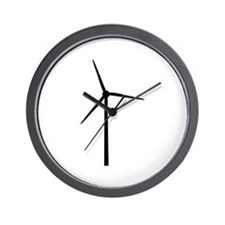wind energy Wall Clock