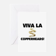 Viva La Copperheads Greeting Cards (Pk of 10)