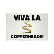 Viva La Copperheads Rectangle Magnet