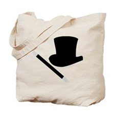 Magic Top Hat and Wand Tote Bag