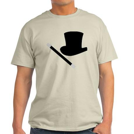 Magic Top Hat and Wand Light T-Shirt