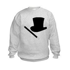 Magic Top Hat and Wand Sweatshirt